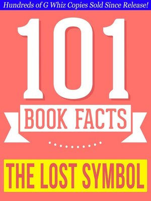 cover image of The Lost Symbol--101 Amazing Facts You Didn't Know