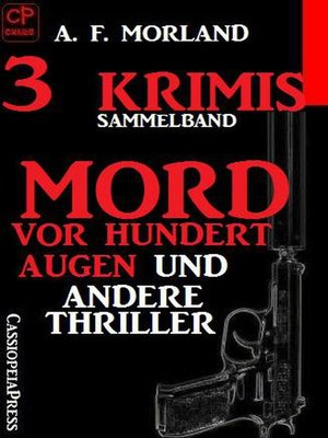 cover image of Sammelband 3 Krimis