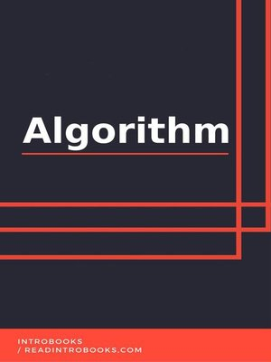 cover image of Algorithm