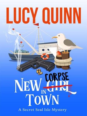 cover image of New Corpse in Town (Secret Seal Isle Mysteries, Book One)