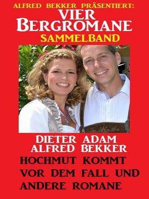 cover image of Vier Bergromane Sammelband