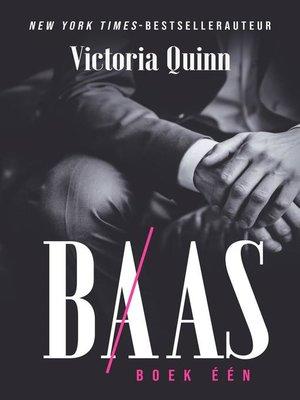 cover image of Baas Boek één