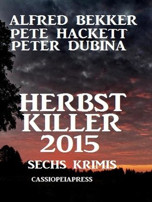cover image of Herbst Killer 2015