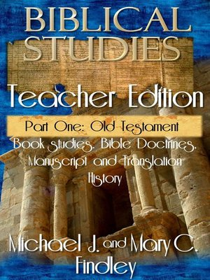 cover image of Biblical Studies Teacher Edition Part One