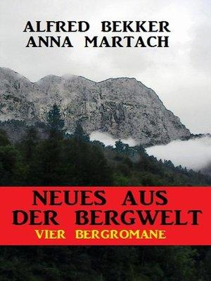 cover image of Vier Bergromane