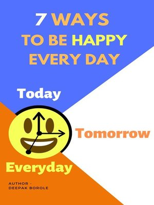 cover image of 7 Ways to Be Happy Every Day