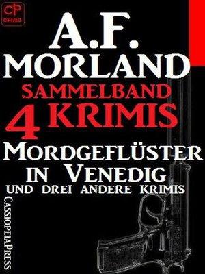 cover image of Sammelband 4 Krimis