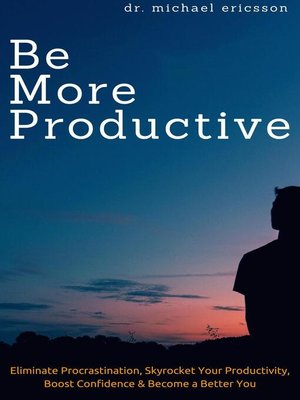 cover image of Be More Productive
