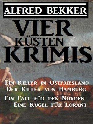 cover image of Vier Küsten-Krimis