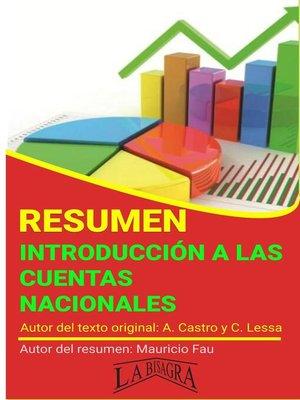 cover image of Resumen de Introducción a las Cuentas Nacionales