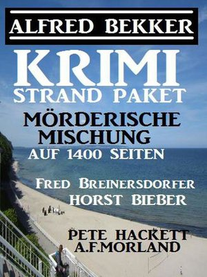cover image of Krimi Strand-Paket