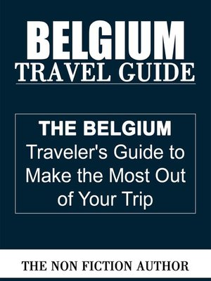 cover image of Belgium Travel Guide