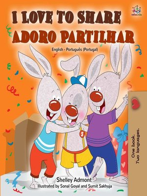 cover image of I Love to Share Adoro Partilhar