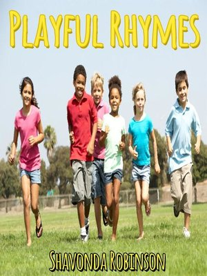 cover image of Playful Rhymes