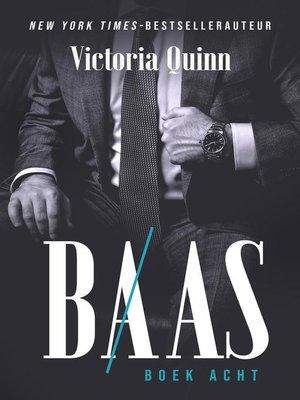 cover image of Baas Boek acht
