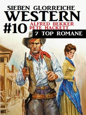 cover image of Sieben glorreiche Western #10