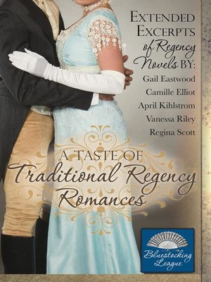 cover image of A Taste of Traditional Regency Romances