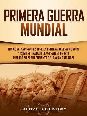 cover image of Primera guerra mundial
