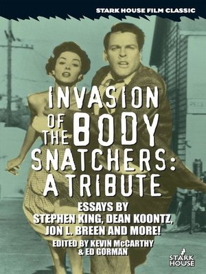 cover image of Invasion of the Body Snatchers
