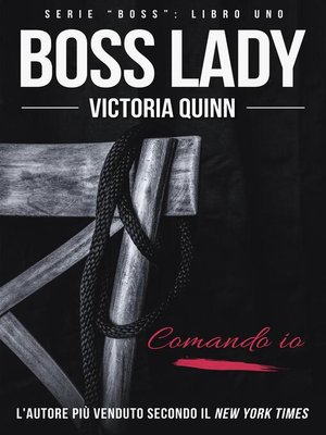 cover image of Boss Lady (Italian)