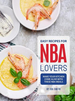 cover image of Easy Recipes for NBA Lovers