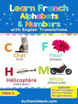 cover image of Learn French Alphabets & Numbers