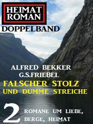cover image of Falscher Stolz und dumme Streiche