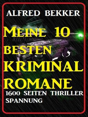 cover image of Meine 10 besten Kriminalromane
