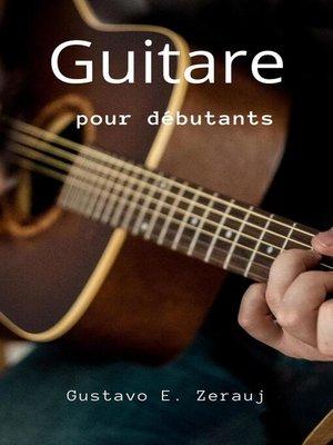 cover image of Guitare  Pour Débutants