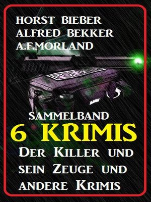 cover image of Sammelband 6 Krimis