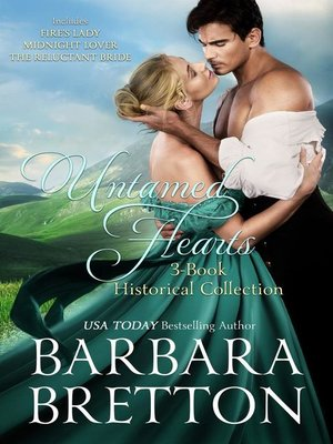cover image of Untamed Hearts--3-Book Historical Collection
