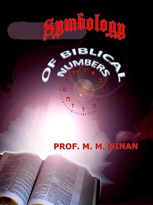 cover image of Symbology of Biblical Numbers