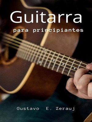 cover image of Guitarra para principiantes