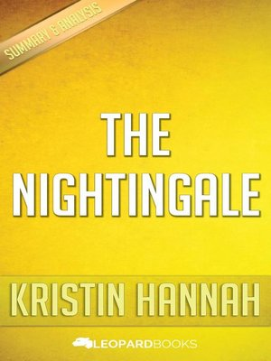 cover image of The Nightingale by Kristin Hannah