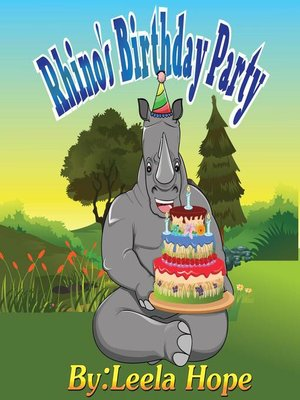 cover image of Rhino's Birthday Party
