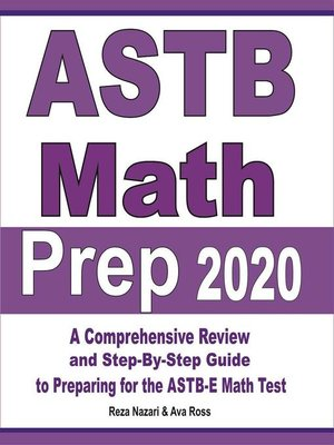 cover image of ASTB Math Prep 2020