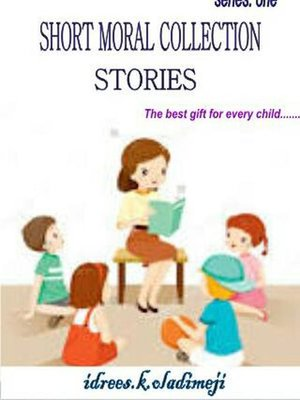 cover image of SHORT MORAL COLLECTION STORIES