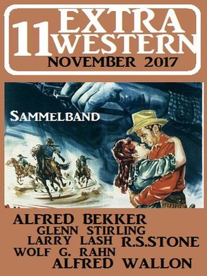 cover image of 11 Extra Western November 2017--Sammelband