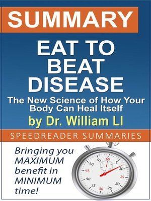 cover image of Summary of Eat to Beat Disease by Dr. William Li