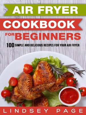cover image of Air Fryer Cookbook for Beginners