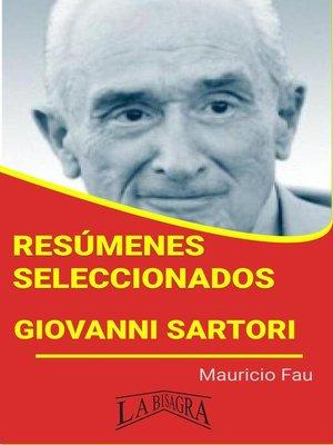 cover image of Giovanni Sartori