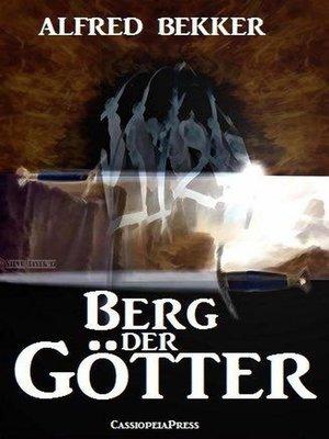 cover image of Berg der Götter