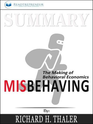 cover image of Summary of Misbehaving