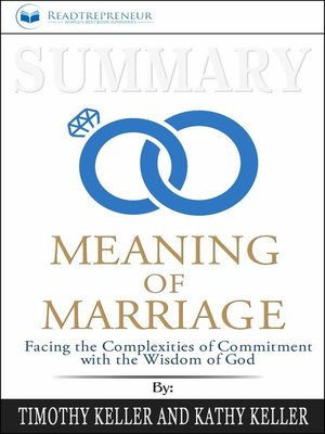 cover image of Summary of the Meaning of Marriage