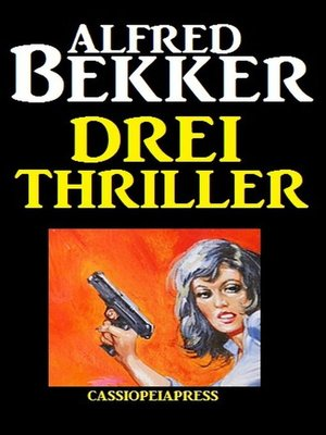 cover image of Drei Thriller