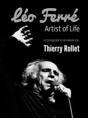 cover image of Léo Ferré. Artist of Life