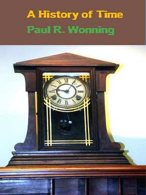 cover image of A History of Time