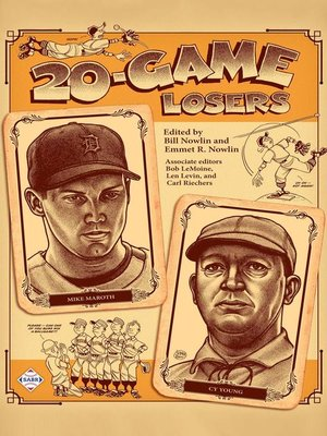 cover image of 20-Game Losers