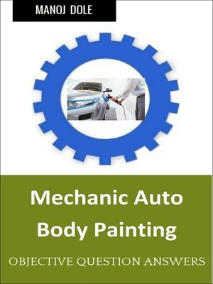 cover image of Mechanic Auto Body Painting