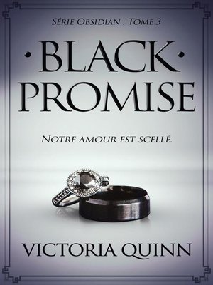 cover image of Black Promise (French)